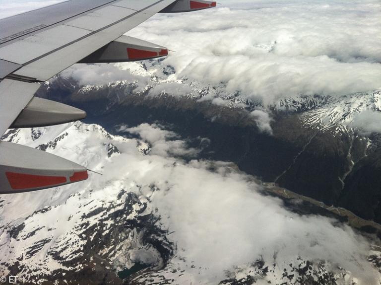 Nowa Zelandia z góry